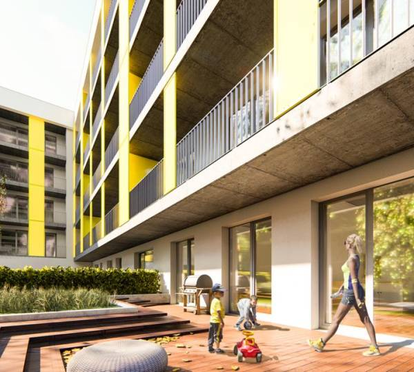 Concrete Yellow